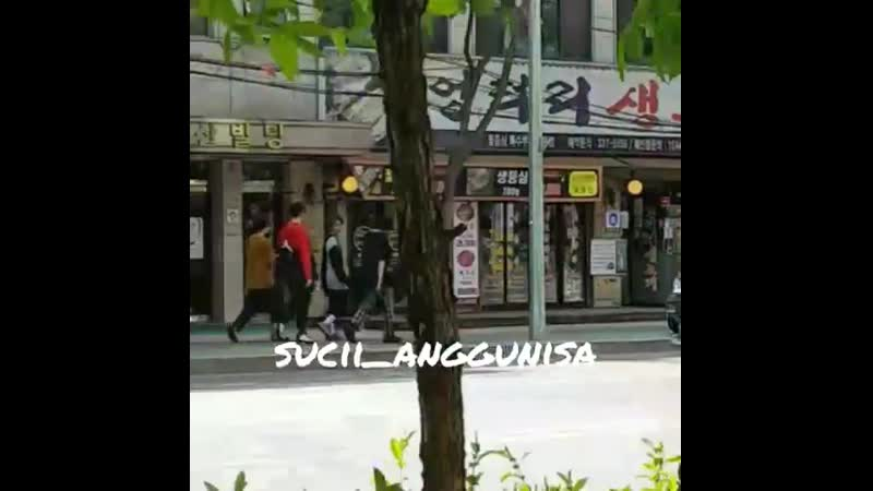 [190422] TREASURE13 | Hyun Suk, Asahi Haruto with manager