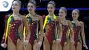 Russia - 2019 Rhythmic Gymnastics Junior European Champions, 5 ribbons