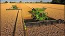 John Deere Mähdrescher S685i TT-12,3m /10,7m-Weizenernte-biggest combine harvester - wheat harvest