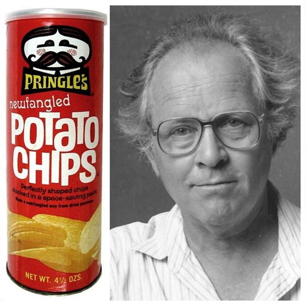 Американский химик Фред Бор знаменит тем, что создал банку-тубус для чипсов Pringles и запатентовал эту форму