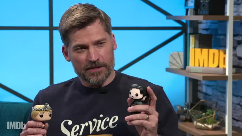 Nikolaj Coster-Waldau Plays Funko Pop! Game of Thrones Battle Bracket