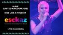 ESCKAZ in London: SuRie (UK 2018) Rise Like a Phoenix (at London Eurovision Party 2019)