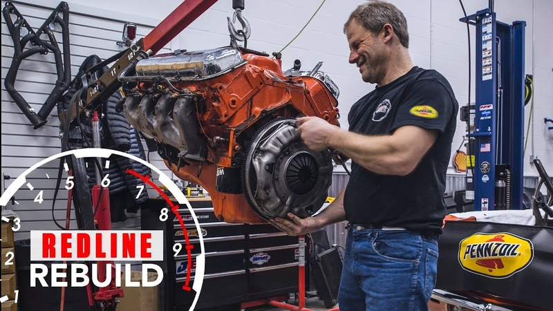 Chevy big block 396 TIME-LAPSE engine rebuild | Redline Rebuilds - S3E2