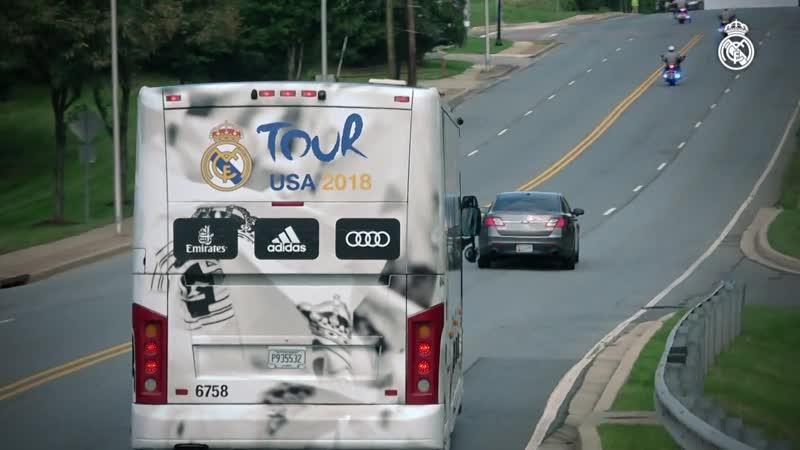 Así será la gira por Estados Unidos || Real Madrid Tour 2019