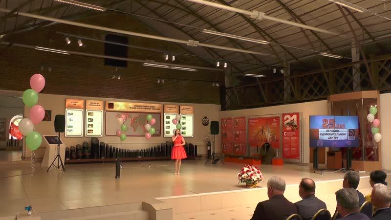 Анна Олькова на праздновании медицинского работника в музейном комплексе Северская домна 14 06 2019г
