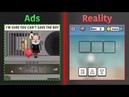 Mobile Game Ads Vs. Reality