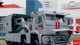 Putin's 28 ton armoured truck to quell civil unrest and protests UNLEASHED