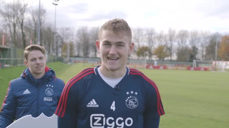 Matthijs de Ligt in FIFA Team of the Week!