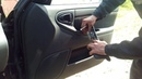 Как снять дверную карту Chevrolet Lanos Daewoo Lanos zaz chance