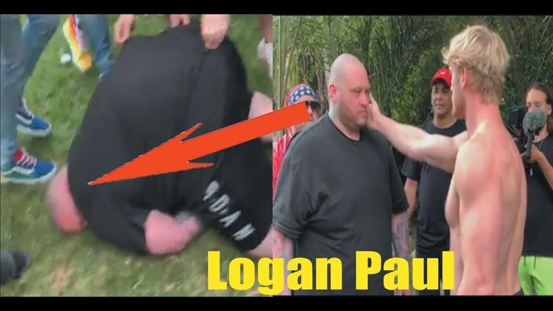ЛОГАН ПОЛ ОТПРАВИЛ ПОЩЕЧИНОЙ В ГЛУХОЙ НОКАУТ ГИГАНТА | LOGAN PAUL TOOK IN A DEAF KNOCKOUT GIANT!
