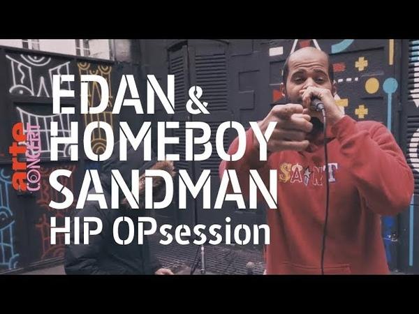 Homeboy Sandman Edan en session @ HIP OPsession (Live session) - ARTE