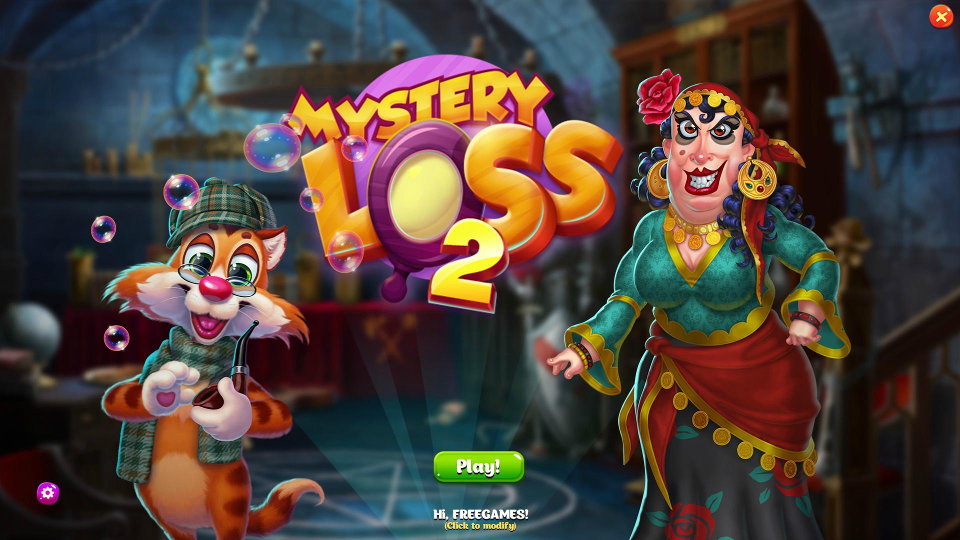 Тайна исчезновения | Mystery Loss 2 (En)