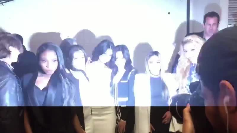 December 11 2015 Selena Gomez and Fifth Harmony backstage at Z100's Jingle Ball in New York 3
