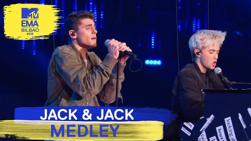 Jack Jack - No One Compares To You Rise Medley Live | MTV EMAs 2018