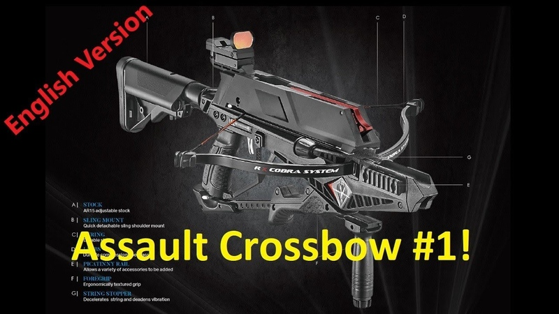 The Cobra RX Adder Tactical Repeating Crossbow! Available soon.