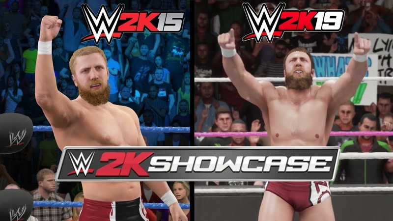 WWE 2K19 Vs. WWE 2K15 Daniel Bryan 2K Showcase Moments