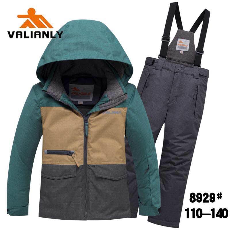 Зимний комплект Valianly 8929 зеленый