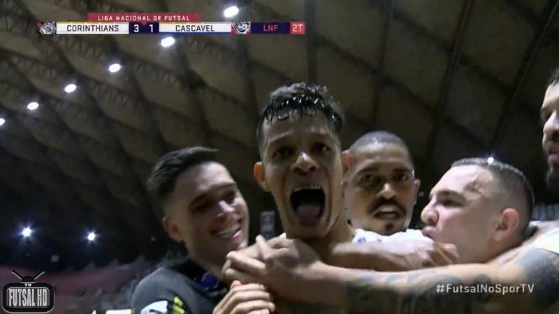 Чемпионат Бразилии Corinthians 3x1 Cascavel (1 тур)