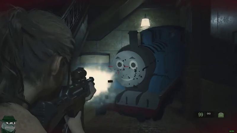 ПАРОВОЗИК ТОМАС - Resident Evil 2