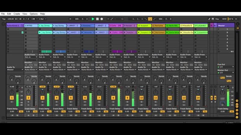 [Ruhe Klinik - Demo Set´s] - Ableton Live 10 Suite