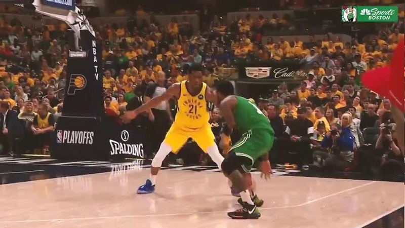 NBC Sports Boston on Instagram Half untucked Kyrie's handles are so fire he almost twisted his own ankles 😮🔥""
