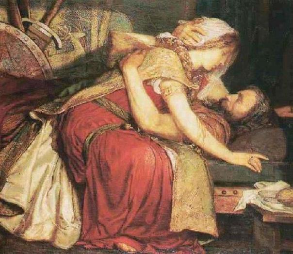 Тристан и Изольда в живописи Кельтская легенда о возвышенной любви рыцаря Тристана и прекрасной ирландки Изольды была настолько популярна в Средние века в Европе, что получила свое продолжение
