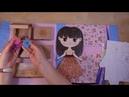 Обзор набора для детского творчества Магнитная кукла из серии Foxy Dolls