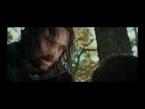 Фильм Властелин колец Братство кольца Бой в лесу Великолепная смерть Боромира сына Гондора