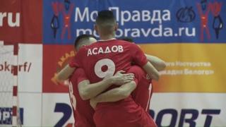Видеоотчет о первом матче МФК КПРФ – «Тюмень»