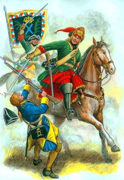 ПОСЛЕ ПОЛТАВЫ В массовом представлении Северная война на суше оканчивается Полтавской битвой, где армия талантливейшего тактика Карла Двенадцатого потерпела сокрушительный разгром, устроенный