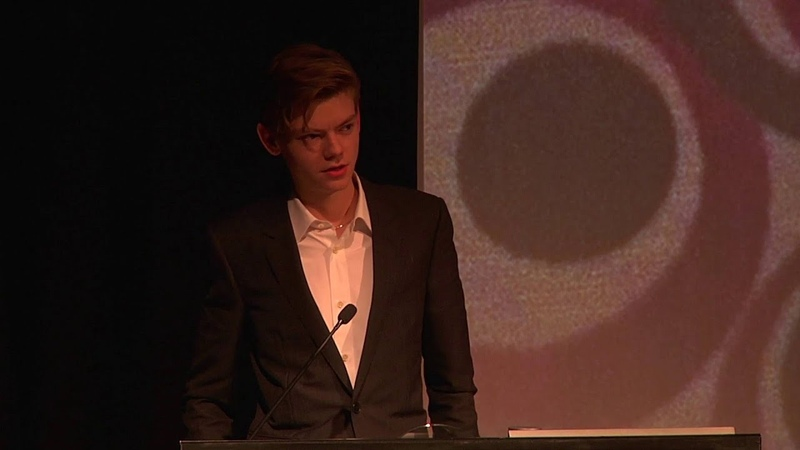 London Critics' Circle Awards: Thomas Brodie Sangster Accepts For Mark Rylance