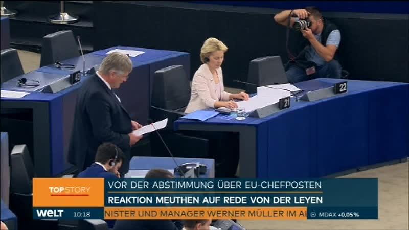 MASvid_Des deutschen Leydens Griff nach dem EU-Chefsessel (16.07.2019)