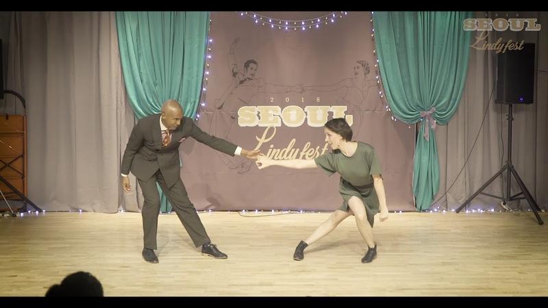 SeoulLindyFest2018 - Teachers improvisation Remy Tatiana