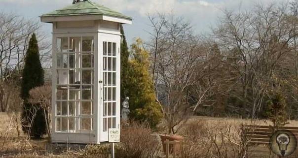 «Телефон ветра» - таксофон, из которого можно позвонить в загробный мир.