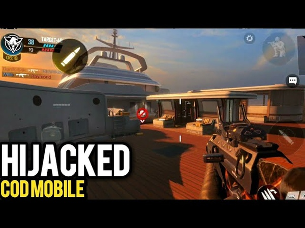 Official COD Mobile Hijacked First Look Android 60fps Gameplay
