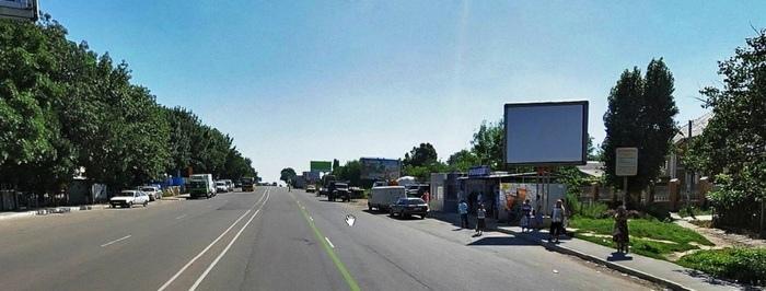 На фотографии остановка 1-я Крыжановка Названия маршрутов общественного транспорта проходящих по Старониколаевской трассе(через Крыжановку)