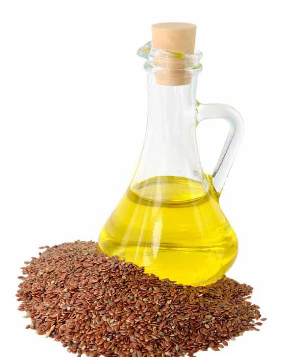 Считается, что льняное масло помогает при болях в суставах.