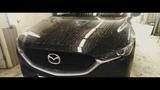 Mazda cx-5 повреждение,передняя дверь. Удаление вмятин Пермь.