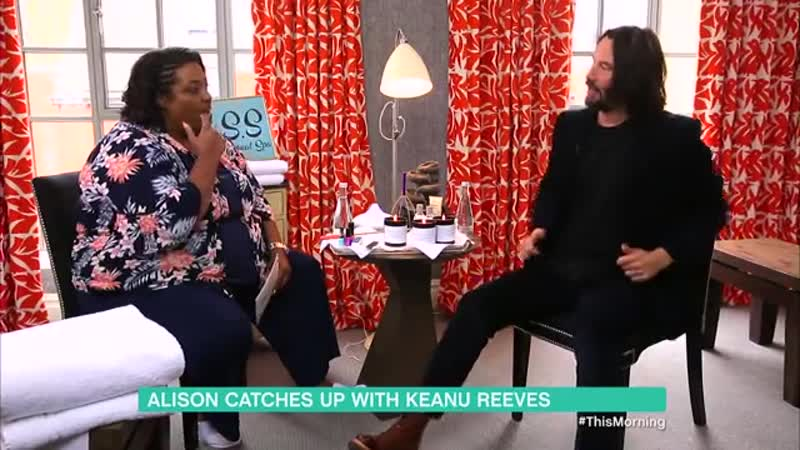 Alison Hammond interviews Keanu Reeves about John Wick 3