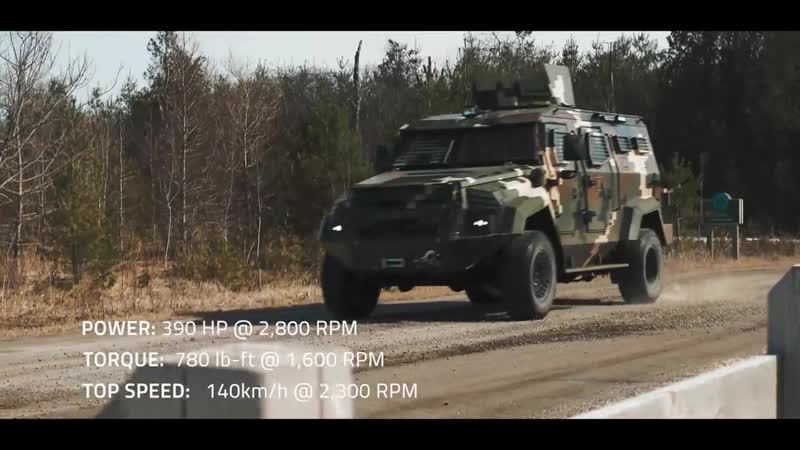 INKAS Sentry APC Right Hand Drive RHD Armored Vehicle Armored Personnel Carrier