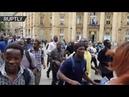 «Чёрные жилеты» ворвались в парижский Пантеон