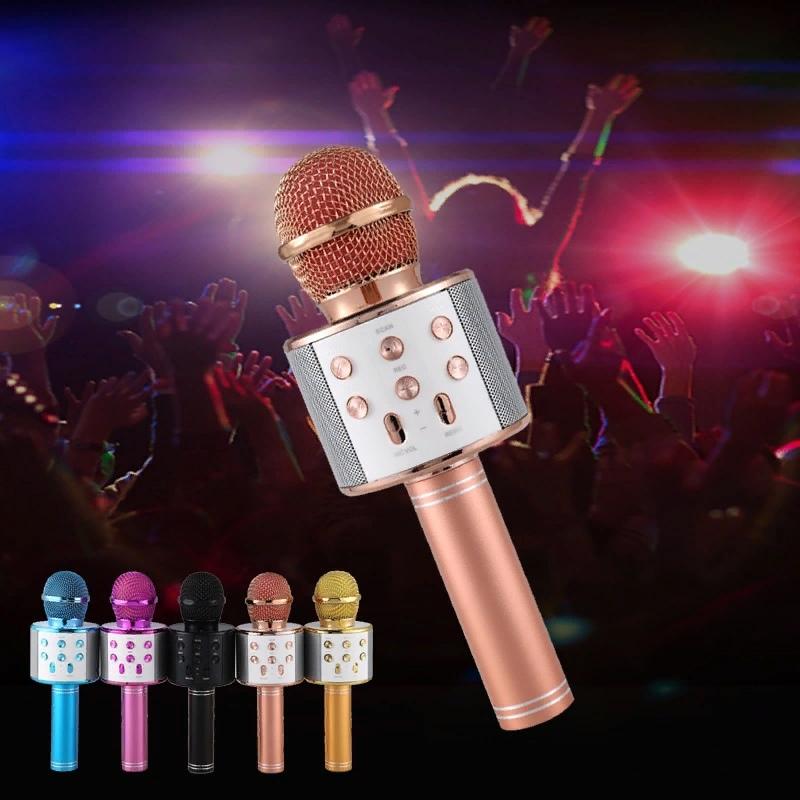 Микрофон меняет голос