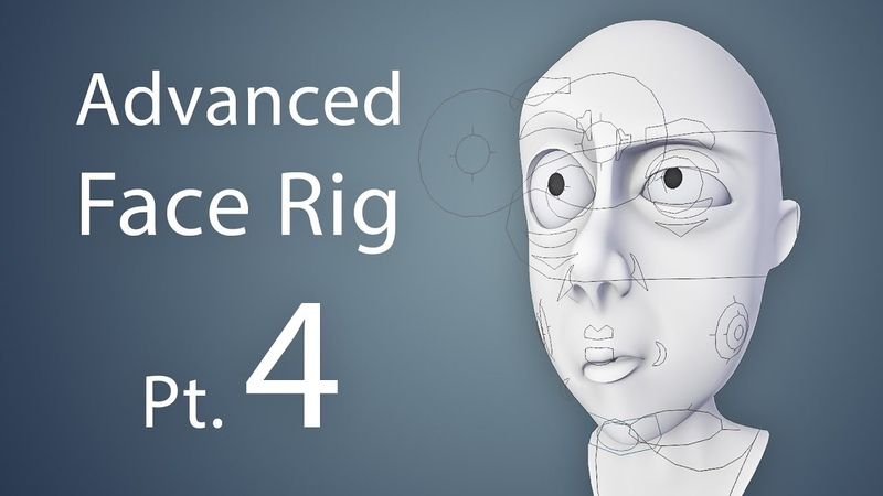 CGCookie: Creating an Advanced Face Rig Pt. 4 (Blender 2.6)