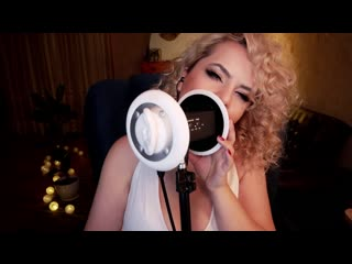 Asmr intense ear licking, eating, nibbling, mouth sounds 👅 (marylin monroe cosplay) by  trinkel bay | asmr 18+