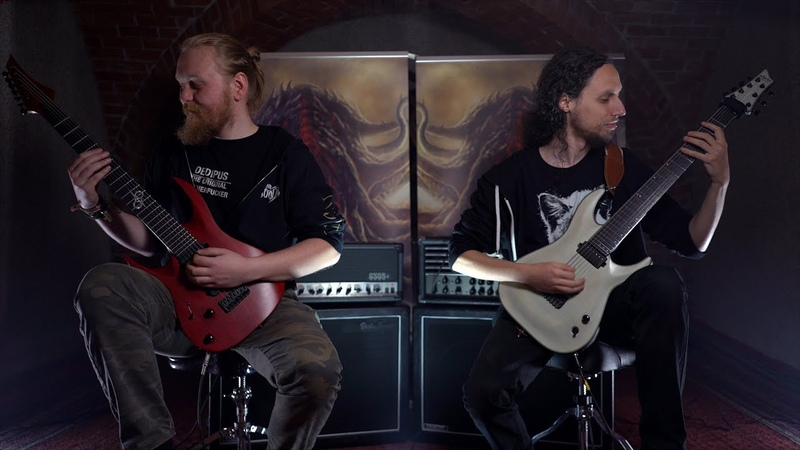 DETHRONE THE CORRUPTED - CURSE THE DECEASED [OFFICIAL GUITAR PLAYTHROUGH] (2019) SW EXCLUSIVE