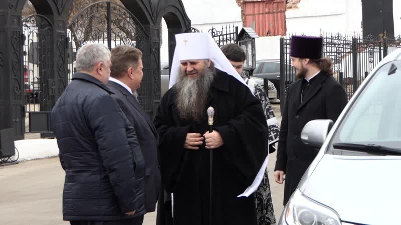12 04 2019 Литургия Преждеосвещенных даров в Спасо-Преображенском монастыре Арзамаса