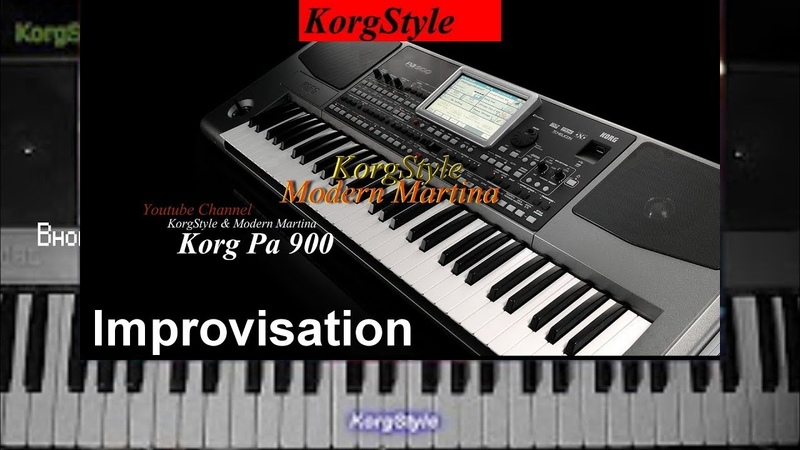 KorgStyle Modern Martina - Improvisation (Korg Pa 900) DemoVersion