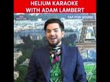 Helium Karaoke with Adam Lambert - January 2019, London