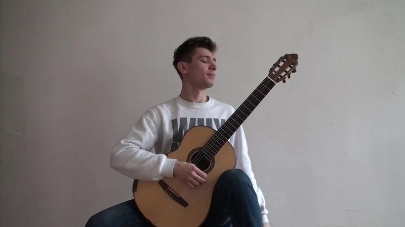 Egor Svezhentcev. BRUSSELS INTERNATIONAL GUITAR COMPETITON ILSE NICOLAS ALFONSO 2019