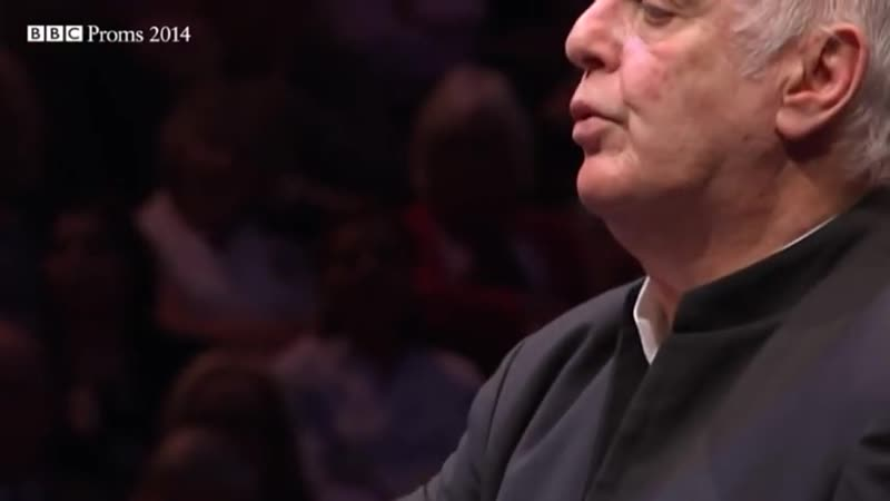 The West–Eastern Divan Orchestra conducted by Daniel Barenboim performs Ravels Boléro.– BBC Proms 2014